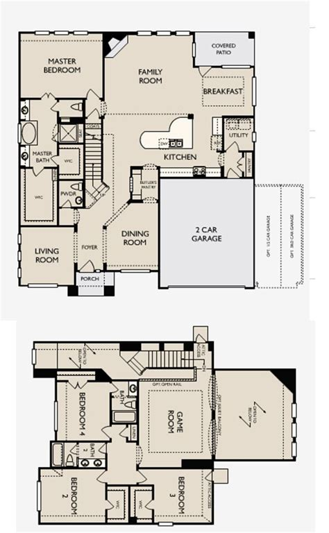 ashton woods homes floor plans floor plans for the award winning bethany model in