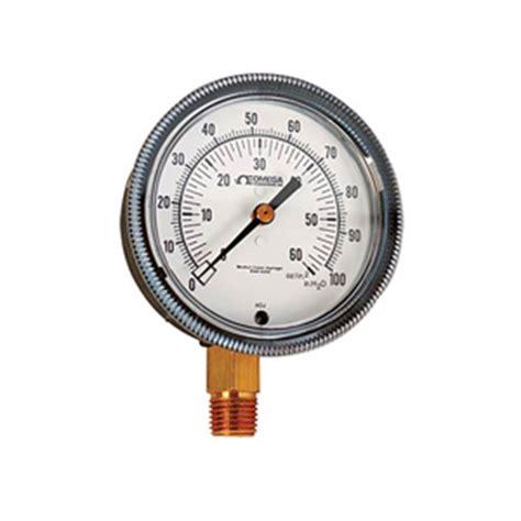 Pressure Manometer 25 Inchi Wika manometer low pressure air pressure gage
