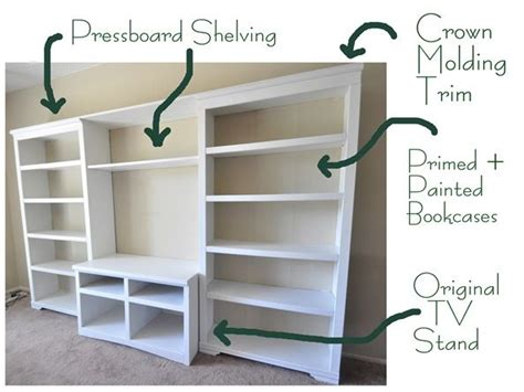 Diy Wall Unit Entertainment Center | alma update media storage entertainment units media