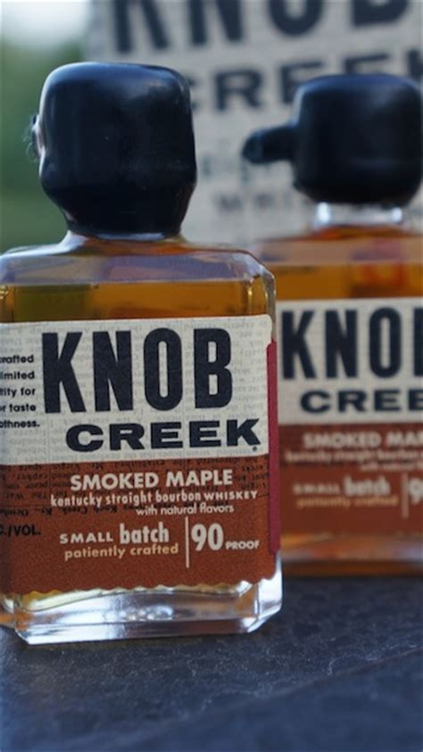 Knob Creek Maple Review by Review Knob Creek Smoked Maple Bourbonblog