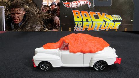 Ford De Luxe Back To The Future Hotwheels Real Riders back to the future biff s ford deluxe wheels