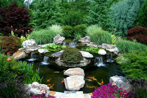patio koi pond water garden and koi pond designs for the backyard and patio