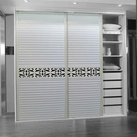 Lemari Uv uv high gloss sliding door wardrobe cabinet