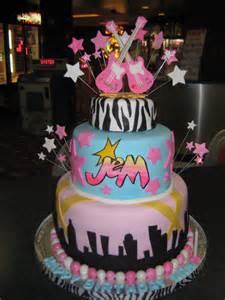Holograms birthday cake 80s rock cake byrdie girl custom cakes