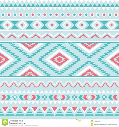 tribal pattern pastel blue tribal seamless pattern aztec blue and pink background