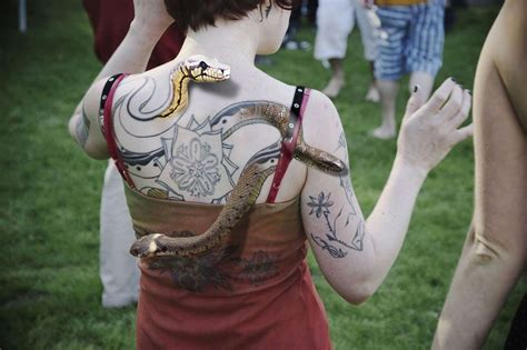 Lucky Snake Tattoo 2 Snake Back Tattoo On Tattoochief Com Free Snake Tattoos Designs