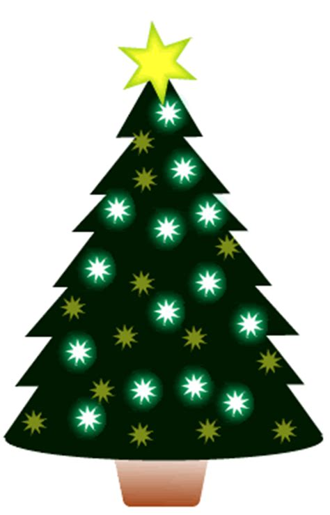 animated christmas tree clip art free clipart animated tree set