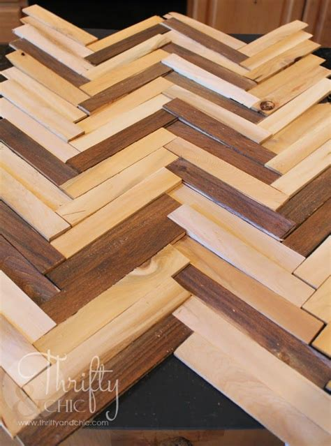 herringbone pattern wall diy herringbone pattern wall art using wood shims dyi