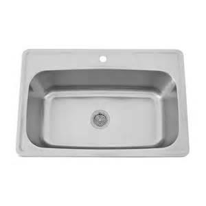 Kitchen Sink Holes 33 Quot Infinite Stainless Steel Drop In Sink Kitchen