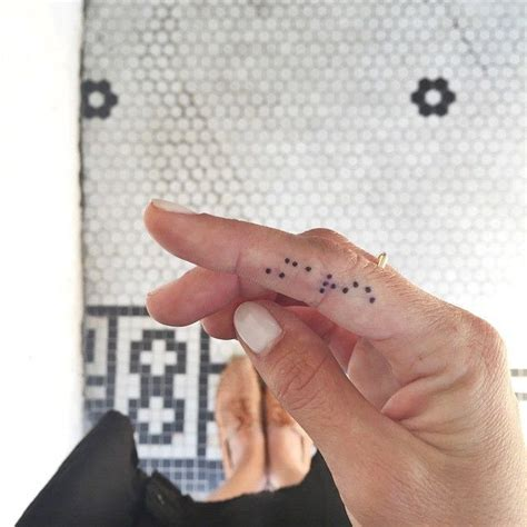 braille tattoo best 25 braille ideas on pixel