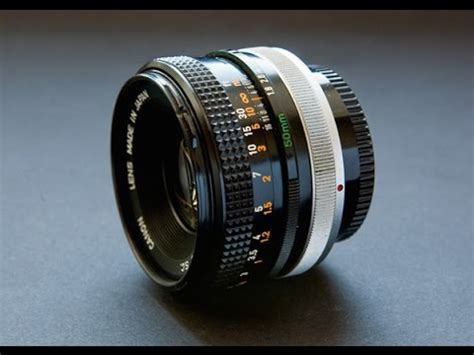 canon fd 50mm f/1.8 lens test on samsung nx 1000 youtube