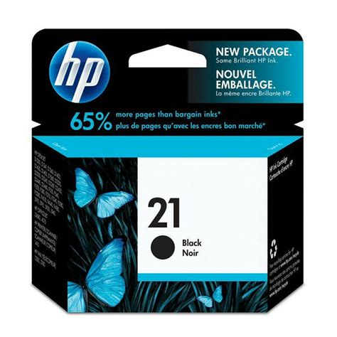 Tinta Printer Hp No 21 Hp C9351ae No 21 Black Orginalna Tinta