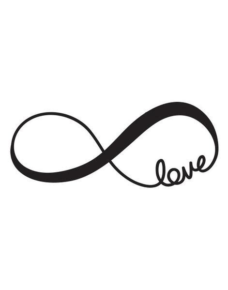Imagenes De Infinitos Blanco Y Negro | tatuaje ef 237 mero negro modelo love infinito valentina