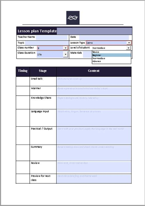fillable lesson plan template 39 free lesson plan templates ms word and pdfs templatehub