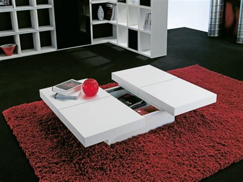 Living Room Storage Table White Coffee Tables With Storage