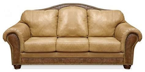 Dalyn Studio Rugs Pinehurst Chaparral Leather Sofa Rustic Sofas