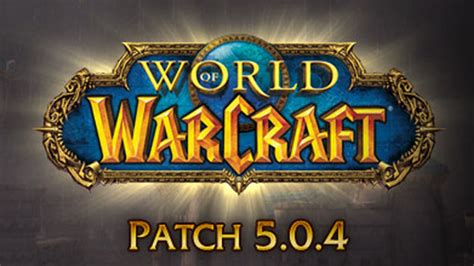 Patchwork Wow - world of warcraft patch drops prepares for mists of pandaria