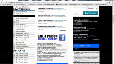 Broward County Inmate Records Broward County Broward County Inmate Search