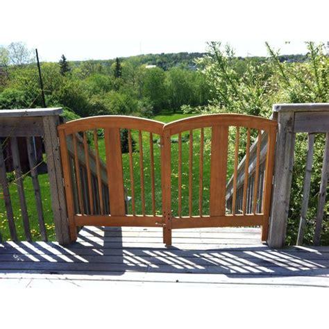 Crib Gate by Repurposed Crib Sides For Deck Gate Garden Fantasies