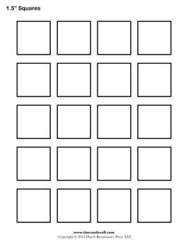 printable blank zentangle squares blank square templates geometry shapes pinterest
