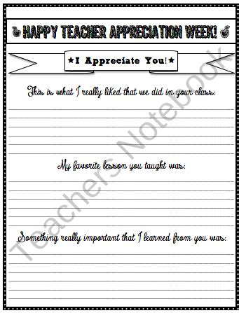 appreciation letter to the class appreciation writing from the high tech on