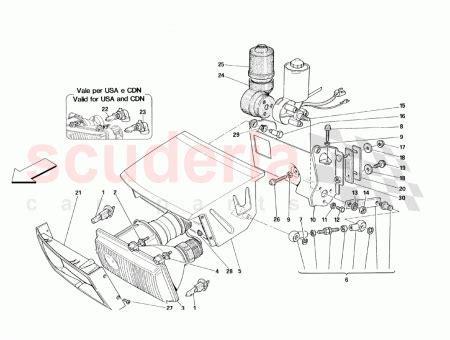 ferrari 143165, hb4 12v 55w bulb scuderia car parts