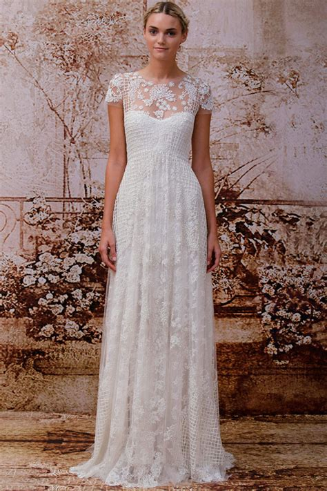 monique lhuillier bridal 2014 monique lhuillier fall 2014 bridal collection the