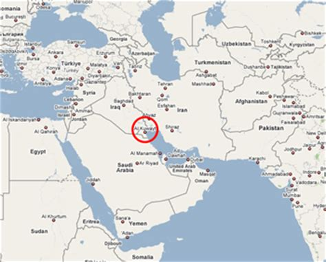 kuwait on a world map related keywords suggestions for kuwait world map