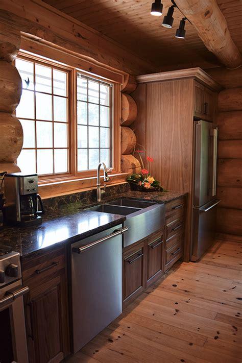 natural walnut kitchen cabinets bruce county custom cabinets natural walnut custom kitchen