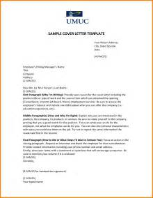 Best Opening Line Cover Letter by 6 Exle Of Opening Statement For Cover Letter
