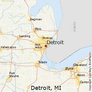 us map detroit michigan best places to live in detroit michigan
