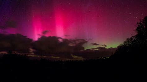 possible aurora australis sightings on wednesday night
