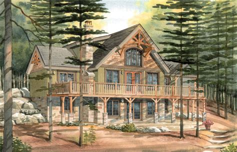 timber homes plans carleton a timber frame cabin
