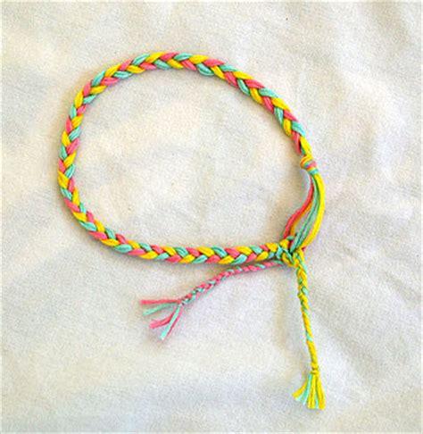 How To Make Handmade Bracelets With String - never fails february 2011