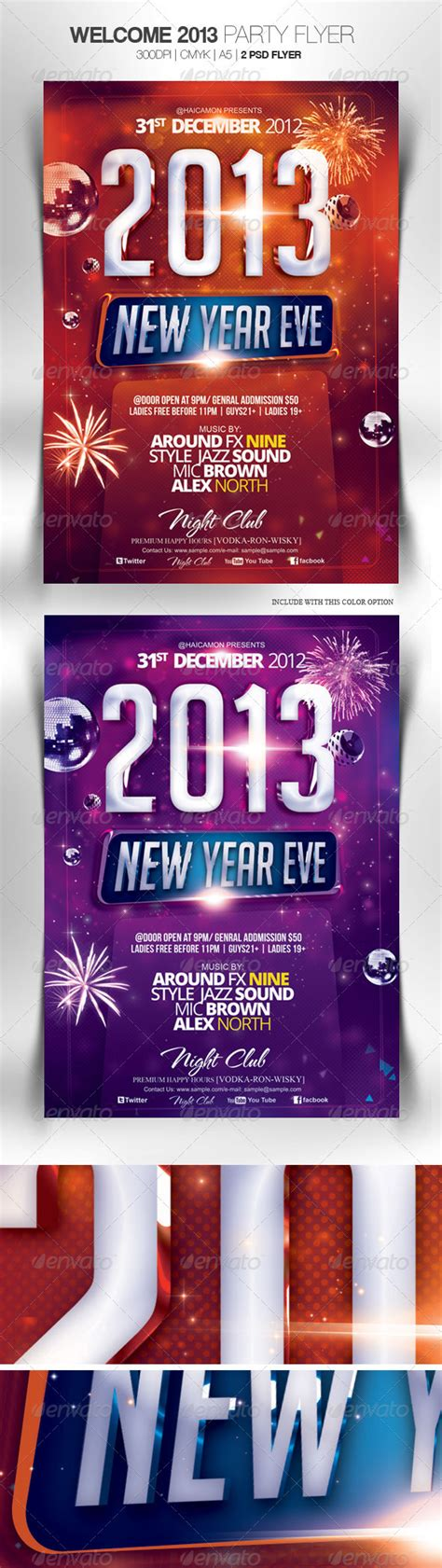 Template Flyer Party Mic 2013 Psd 187 Tinkytyler Org Stock Photos Graphics Welcome Flyer Template