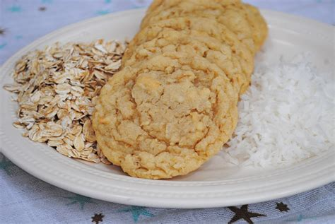 Coconut Oatmeal Cookies oatmeal coconut chewies