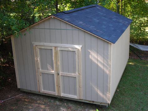Build On Site Storage Sheds by Premium A Frame Gable