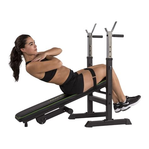 Banc De Musculation Basic by Banc De Musculation Tunturi Wb20 Basic Weight Bench