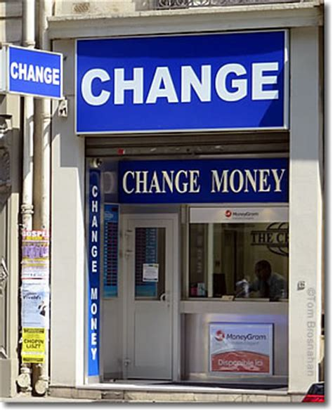 Euro Exchange Rates Avoiding Airport Exchange Ripoffs Bureau De Change Montparnasse