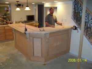 Simple Basement Bar Ideas Spindles On Stairs Mancave Ideas