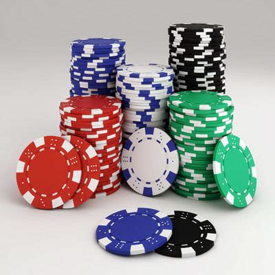 stack up the chips the poker room is open at maryland poker chips stack 3d model