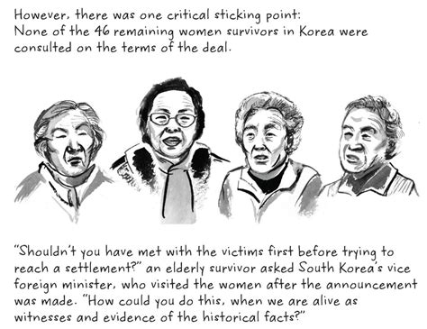 the comfort women the quot comfort women deal quot between south korea and japan