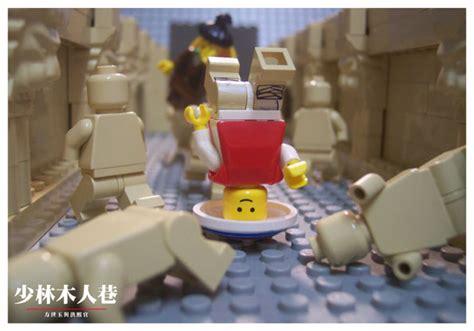 Lego Banbao 6602 Gong Fu lego 玩出樂高的武俠世界 lego 樂高創作 樂高裡的少林寺木人巷