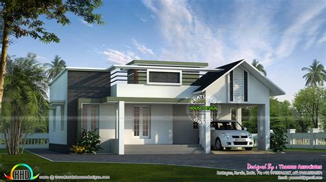 simple home design kerala small simple 1200 sq ft house kerala home design and