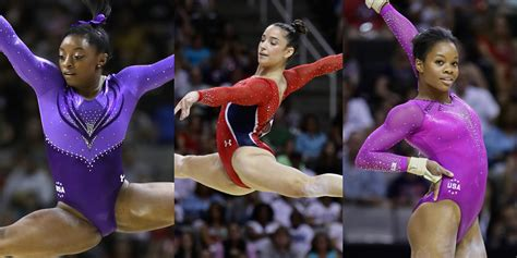 women s gymnastics simone biles cruises into san jose s olympic simone biles leads after first day of olympic trials for