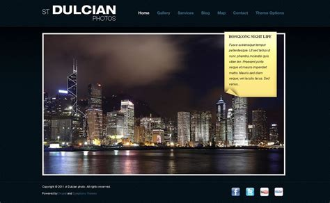 drupal themes to buy dulcian premium drupal photography theme with gmap location