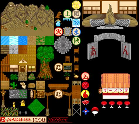 naruto game map tiles by sirwilliamperkins on deviantart
