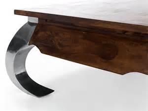 table basse opium 80x80 en palissandre colonial pour salon