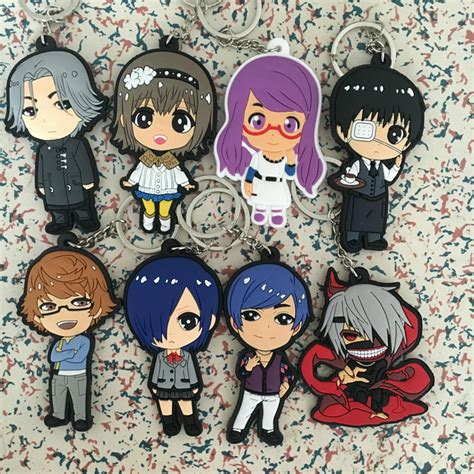 Keychain Gantungan Kunci Anime Karakter 5 In 1 buy grosir anime gantungan kunci set from china