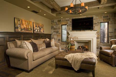 Mediterranean Home Decor Accents Residential Cigar Room